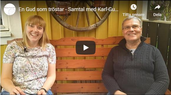 En Gud som tröstar – Samtal med Karl-Gunnar Hugosson