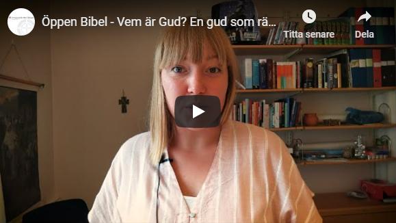 Öppen Bibel – Vem är Gud? En gud som räddar