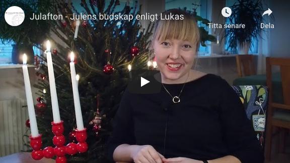 Julafton – Julens budskap enligt Lukas