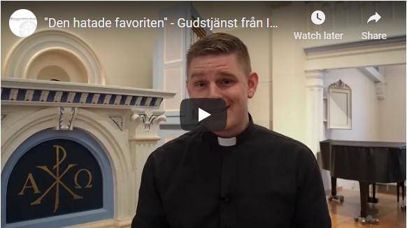 Gudstjänst 10 januari 2021 – Den hatade favoriten