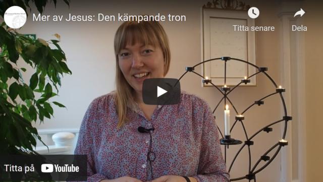 Mer av Jesus: Den kämpande tron
