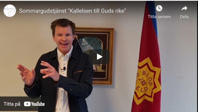"Sommargudstjänst ""Kallelsen till Guds rike"""